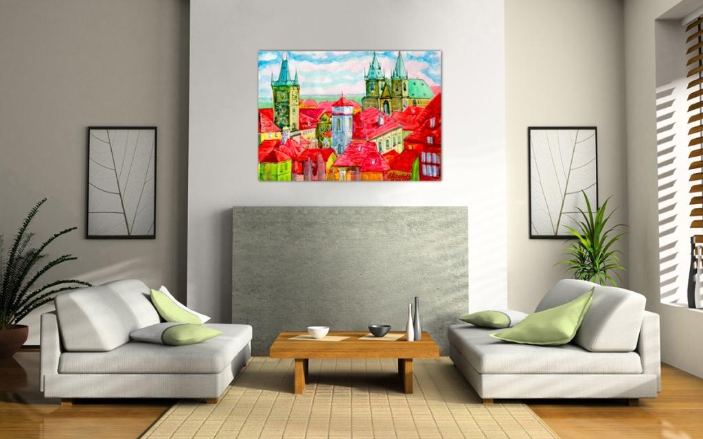 Картины для интерьера в стиле модерн фото