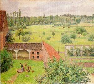 Вид из моего окна Музей Эшмолин (Оксфорд) 1886